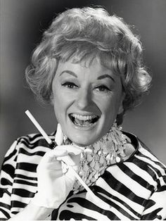 Phillis Diller ~ what a spaz....her hair is actually tame in this picture!!