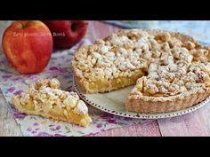 Crostata sbriciolata alle mele golosa e facile da preparare; un dolce senza glutineperfetto da servire in ogni occasione. Strudel, Muffin, Gluten Free, Breakfast, Desserts, Biscotti, Food, Mozzarella, Carne