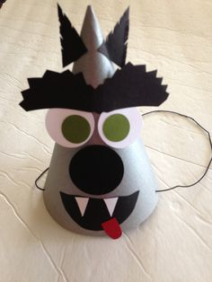 BIG BAD WOLF Birthday Party Hats Set of 6 The by AnnaliseJDesigns, $18.00