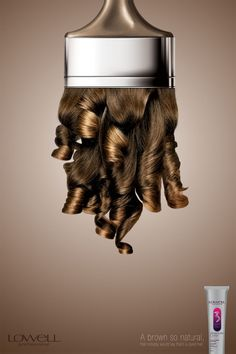Publicité - Creative advertising campaign - Lowell: A brown so natural Clever Advertising, Print Advertising, Advertising Campaign, Marketing And Advertising, Shampoo Advertising, Advertisement Examples, Design Poster, Ad Design, Graphic Design