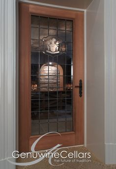 Wine Cellar | Door | Dream Home | Luxury | Wine  www.genuwinecellars.com