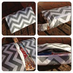 Chevron Diaper Clutch by JerseyPeachDesigns on Etsy, $35.00