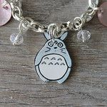 Plastique fou par Made in Pacôtilles Totoro, Bracelets, Creations, Personalized Items, How To Make, Silver, Jewelry, I Don't Care, Jewlery