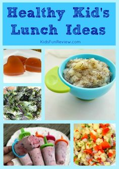Fun healthy lunch ideas for kids
