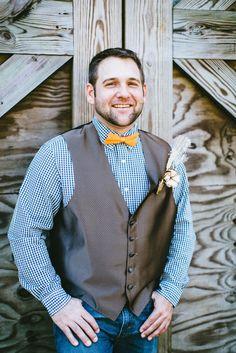 One happy groom! @horsecreeknc in Eagle Springs, NC | Photo by @maegoni |