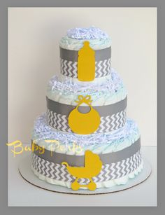 yellow and gray party decorations | Request a custom order and have something made just for you.