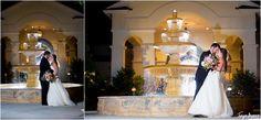 tonya beaver photography; jacksonville wedding photographer; jacksonville beach wedding photographer; st augustine wedding; night wedding photos; nighttime water fountain