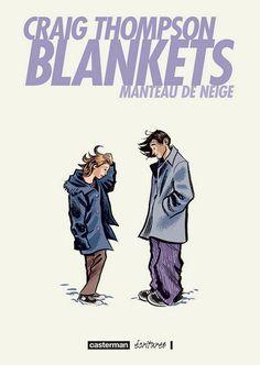 Blankets by Craig Thompson (Manteau De Neige). Craig Thompson, Bd Comics, Comic Games, Googie, Lectures, Illustrations, Comic Books Art, Book Art, Great Books