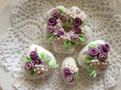 aroma di vaniglia: confetti decorati