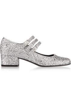 SAINT LAURENT Glitter-finished pumps £345.00 http://www.theoutnet.com/products/472397