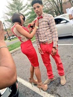 78587db5594 13 Cutest Matching Outfits For Black Couples