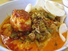 Ketupat Sayur - Disini ada cara membuat video resep ketupat sayur nangka padang pepaya muda jawa labu siam ncc khas betawi asli hari raya lebaran idul fitri paling enak.