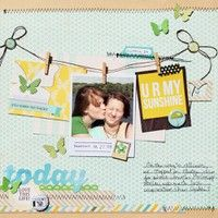 A Project by nancyburke from our Scrapbooking Gallery originally submitted 04/23/13 at 08:05 AM