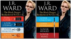 *BACK ON SALE!* #Kindle #Pricedrop! Black Dagger Brotherhood (by J.R. Ward) Digital Book Sets are on Sale! Book Set 1-4 is on sale for $19.99 (reg. $28.99) and Book Set 5-8 (reg. $28.99) is on Sale for only $8.99!! PRICE MIGHT NOT LAST LONG!