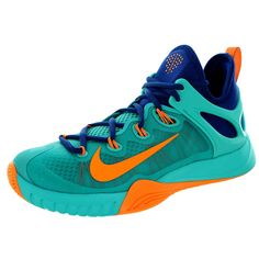 free shipping b3c47 ec13b Nike Men s Zoom Hyperrev 2015 Lt Retro Brightt Citrus Gym Bl Basketball Shoe