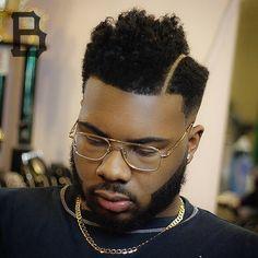 Cool Haircuts for Black Men - Black Haircut Styles Black Haircut Styles, Black Men Haircuts, Black Men Hairstyles, Trendy Haircuts, Cool Haircuts, Hairstyles Haircuts, Cool Hairstyles, Popular Haircuts, Hard Part Haircut