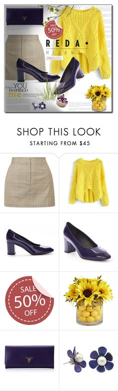 """""""Reda Milano Fashionable Woman's Shoes"""" by ania-95 ❤ liked on Polyvore featuring TIBI, Chicwish, Pier 1 Imports and Prada"""