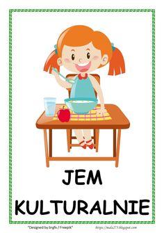 BLOG EDUKACYJNY DLA DZIECI: Kodeks przedszkolaka Teaching Kids, Kids Learning, Fabric Spray Paint, Teacher Inspiration, Sensory Toys, Social Platform, School Projects, Classroom Decor, Kids And Parenting