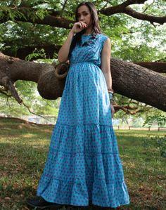 Maxi boho dress - Babydoll Princess Dress, $67.00 (http://www.bluseagal.com/babydoll-princess-dress/)