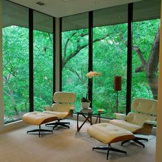 Fancy - Eames Lounge Chair and Ottoman