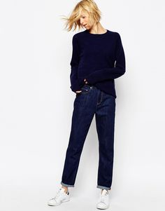 Waven High Rise Mom Jeans