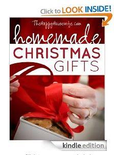 Free eBook - Homemade Christmas Gifts