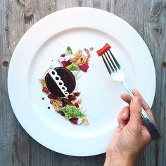 "Anonymous Instagram Chef Jacques La Merde Re-Creates Noma's Famous Dishes Using Doritos, Velveeta, and ""Vienna Beef Tartar"""