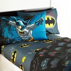 Batman Guardian Speed Bedding Sheet Set Size Twin ** Check out this great product. Kids Twin Bedding Sets, Mens Bedding Sets, Comforter Sets, Kids Bed Sheets, Twin Sheets, Kids Sheet Sets, Twin Sheet Sets, Batman Bed, Kids Batman