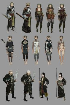 Dragon Age II Character Concepts