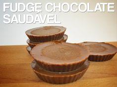 Receitas de Dieta: Fudge de Chocolate Saudável