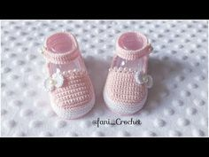 Crochet Baby Booties, Crochet Videos, Diy And Crafts, Baby Shoes, Girl Outfits, Make It Yourself, How To Make, Kids, Clothes