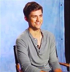 Aaron Tveit on his love of video games.  (GIF)