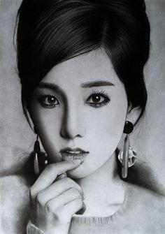 Breathtaking Pencil Portraits by Ken Lee