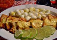Dona Sinhá: Filé de pescada ao molho de mostarda