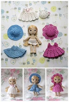 Crochet dolls by Annie's Granny Design