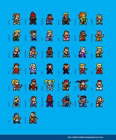 Street Fighter Alpha Max Sprites by dollarcube.deviantart.com on @deviantART