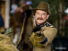 Night at the Museum - Publicity still of Robin Williams