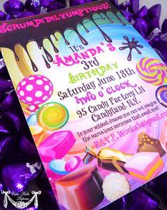 Scrumdiddlyumptious Wonka Bar Invites How to make your own Willy