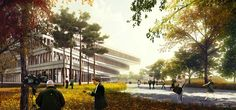 National Assembly Smart Work Center   HAEAHN Architecture and H Architecture PC