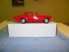 1960 Plymouth Valiant 4 door sedan promo model car