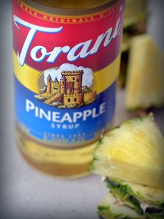 Grab a bottle of this Torani Pineapple flavored syrup and you're one step closer to a piña colada. Sweet and tart. Your cocktails, mocktails, and smoothies are headed to the tropics. Hope they remember their passport.