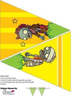 Banderines-de-Plantas-Vs-Zoombies-para-imprimir-gratis.jpg (572×747)