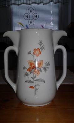 Arabia kaksinokkainen kannu (harvinainen) - Huuto.net Finland, Porcelain, Pottery, Tableware, Glass, Vintage, Design, Ceramica, Porcelain Ceramics