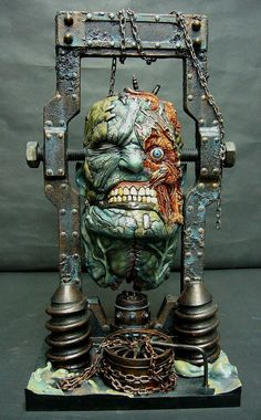 I seen this, and it reminded me of my mind on bad day. Fantasy Kunst, Fantasy Art, Arte Steampunk, Classic Monsters, Foto Art, 3d Prints, Monster Art, Vinyl Toys, Horror Art