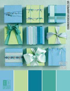 Pretty Boxes   Color Blocks Design