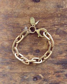 Boyfriend chain bracelet.