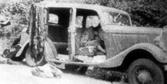 Bonnie and Clyde Ambush Site | It's death for Bonnie and Clyde.
