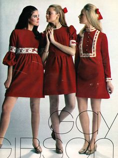Fashion ad featuring Colleen Corby in Seventeen, 1969 60s And 70s Fashion, Junior Fashion, Teen Fashion, Retro Fashion, Vintage Fashion, Kpop Fashion, Fashion Models, Fashion Outfits, 1960s Dresses