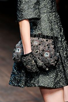 Dolce & Gabbana at Milan Fall 2014 (Details)