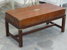 Vintage Campaign Trunk Coffee Table